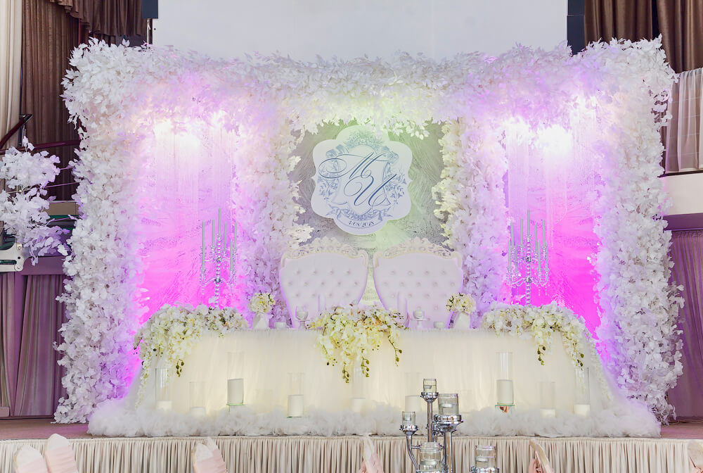 Оформление ресторана на свадьбу
