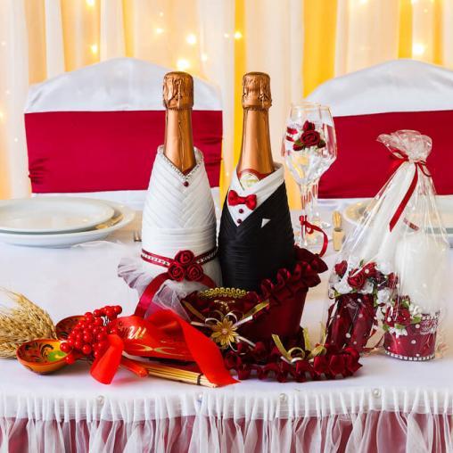 Оформление малого зала для свадьбы в Харькове