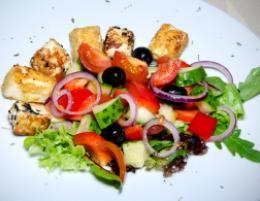 Салат «Средиземно-морский»