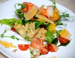 Салат «Ла чиполла» в ресторане