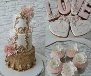 Расчет свадебного торта