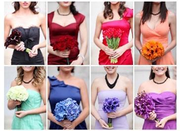 Выбор цвета для свадьбы: главные ошибки